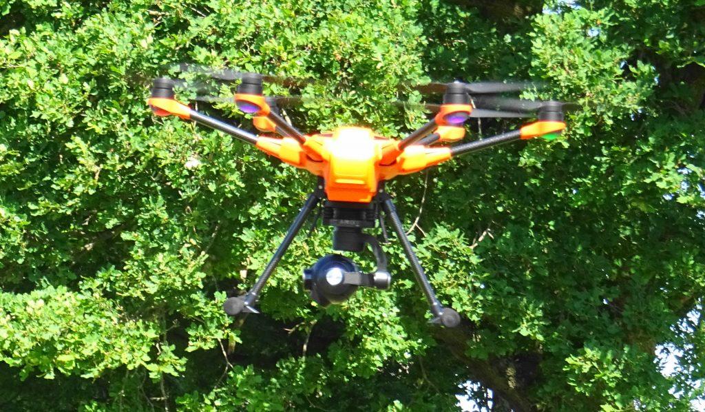 MAssaria Kontrolle  mit Drohne