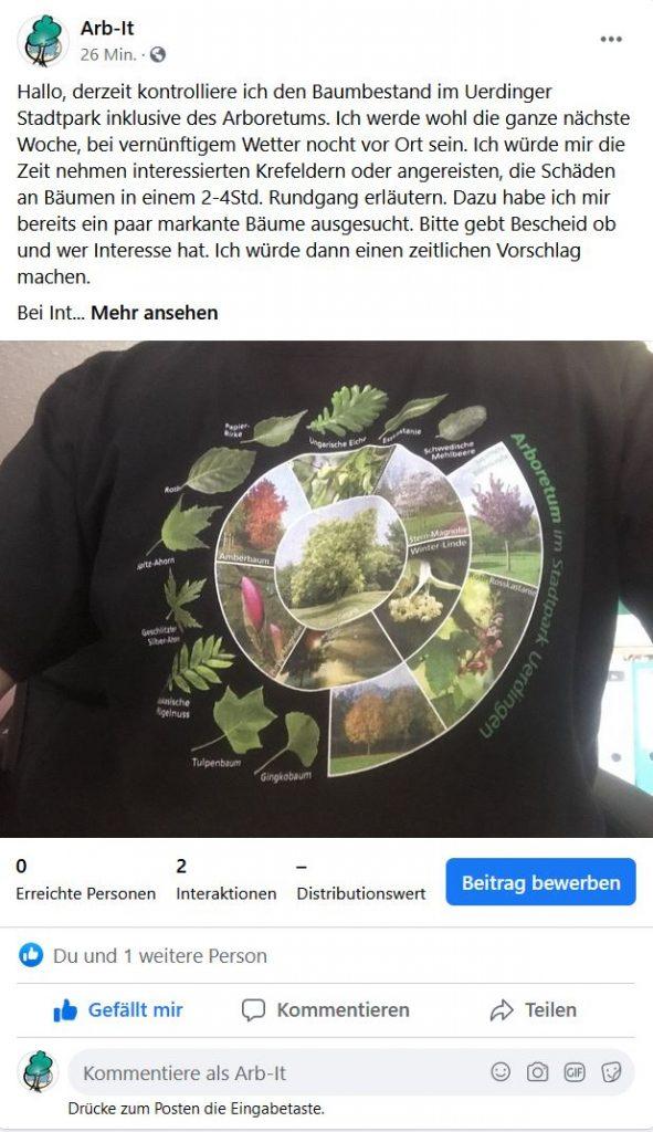 T-Shirt vom Förderverein